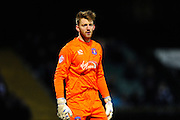 Carlisle Utd goalkeeper Mark Gillespie during the The FA Cup Third Round Replay match between Yeovil Town and Carlisle United at Huish Park, Yeovil, England on 19 January 2016. Photo by Graham Hunt.