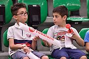 DESCRIZIONE : Campionato 2014/15 Serie A Beko Dinamo Banco di Sardegna Sassari - Grissin Bon Reggio Emilia Finale Playoff Gara4<br /> GIOCATORE : Tifosi Pubblico Spettatori Bambini Vodafone<br /> CATEGORIA : Tifosi Pubblico Spettatori<br /> SQUADRA : Dinamo Banco di Sardegna Sassari<br /> EVENTO : LegaBasket Serie A Beko 2014/2015<br /> GARA : Dinamo Banco di Sardegna Sassari - Grissin Bon Reggio Emilia Finale Playoff Gara4<br /> DATA : 20/06/2015<br /> SPORT : Pallacanestro <br /> AUTORE : Agenzia Ciamillo-Castoria/GiulioCiamillo