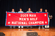 OC Men's Golf National Championship Presentation - 9/3/2009