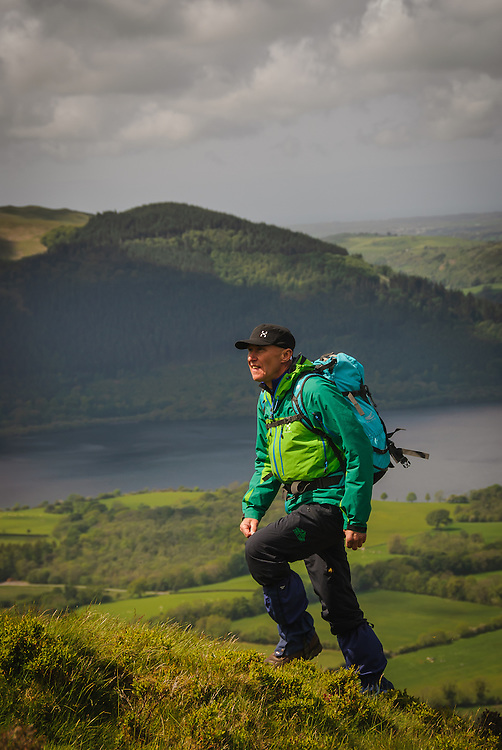 Walker (Alan Hinks)  Ullock Pike, Bassenthwaite, Lake District, Cumbria, Uk