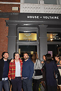 MICHAEL IAN JAMES, CHRIS MCCORMACK, EDWARD THOMASSON, , Evening preview of House of Voltaire.  A pop-up store selling artworks. homewares and limited edition prints. 31 Cork st. London W1S 3NU. 25 September 2019