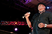 4 August 2010- New York, NY- Q-Tip performs at the ' Robert Glasper Experiment with special guest Q-Tip and Bilal' held outdoors in Damrosch Park for The Lincoln Center Out if Doors Series on August 4, 2010 in New York City. Photo Credit: Terrence Jennings
