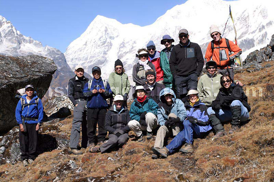 Trekking the Singalila Ridge, the team