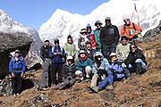 Trekking the Singalila Ridge, the team