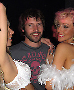 *EXCLUSIVE**.James Blunt with Pink Paradise Strippers.VIP Room Nightclub - 2007 Cannes Film Festival .Cannes, France .Thrusday, May 17, 2007.Photo By Celebrityvibe; .To license this image please call (212) 410 5354 ; or.Email: celebrityvibe@gmail.com ;