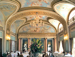 Dallas:  The famous French Room of the Adolphus Hotel, named the number one hotel restaurant in America by Zagat Surveys in April, 2006.  Additional views available.