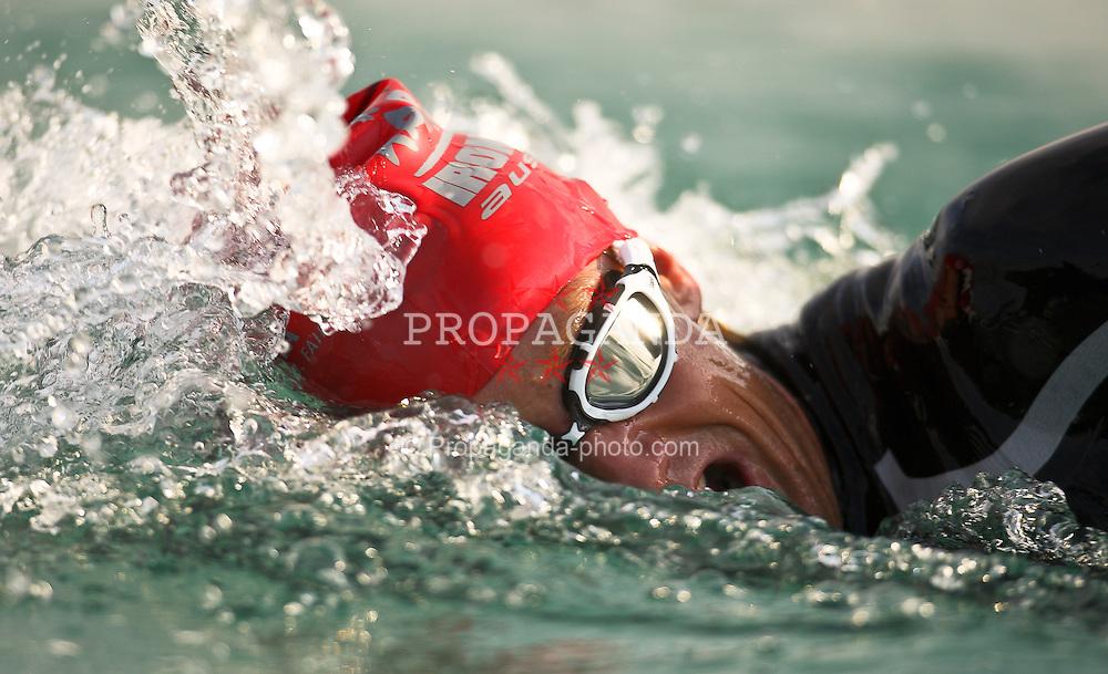 03.07.2011, Ironman Austria, Klagenfurt, Kaernten, im Bild Dominik Berger, EXPA Pictures © 2011, PhotoCredit: EXPA/ M. Kuhnke