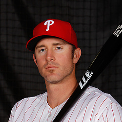 February 22, 2011; Clearwater, FL, USA; Philadelphia Phillies second baseman Chase Utley (26) poses during photo day at Bright House Networks Field. Mandatory Credit: Derick E. Hingle