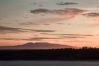 "Mount Susitna, ""Sleeping Lady"", from Anchorage"