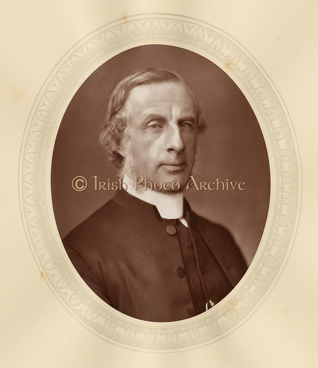 'Edward Hayes Plumptre (1821-1891), c1880, English divine and scholar. Installed as Dean of Wells in 1881.'