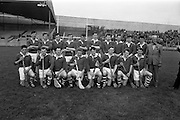 16/10/1966<br /> 10/16/1966<br /> 16 October 1966<br /> Oireachtas Senior Semi-Final: Cork v Wexford at Croke Park, Dublin. <br /> Cork Senior Hurling team.