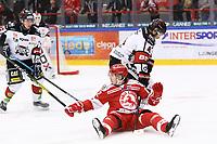 2020-03-07   Ljungby, Sverige: Troja-Ljungby (62) Noa Lindqvist-Muci under matchen i Hockeyettan mellan IF Troja/Ljungby och Bodens HF i Ljungby Arena ( Foto av: Fredrik Sten   Swe Press Photo )<br /> <br /> Nyckelord: Ljungby, Ishockey, Hockeyettan, Ljungby Arena, IF Troja/Ljungby, Bodens HF, fstb200307, playoff, kval