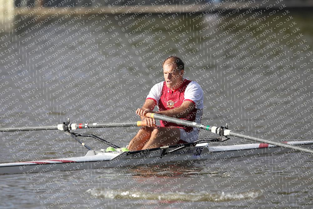 2012.09.29 Wallingford Long Distance Sculls 2012. Division 3. MasD 1x. Marlow Rowing Club, Yeatman.