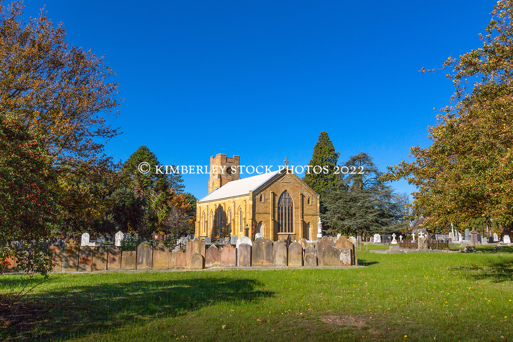 Christ Church Anglican church in Longford, in Tasmania's northern midlands, was built in 1839 on the site of the original church, St Augustine's, built in 1831.