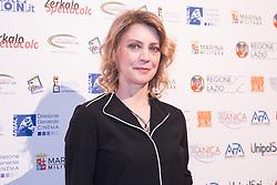 May 3, 2019 - Rome, Italy - Margherita Buy..Red carpet for the award ceremony of the IX Edition of ''La Pellicola d'Oro' (Credit Image: © Matteo Nardone/Pacific Press via ZUMA Wire)