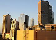 AUSTRALIA - MELBOURNE Melbourne's financial district  during sunrise at dawn. 07/01/2010. STEPHEN SIMPSON...