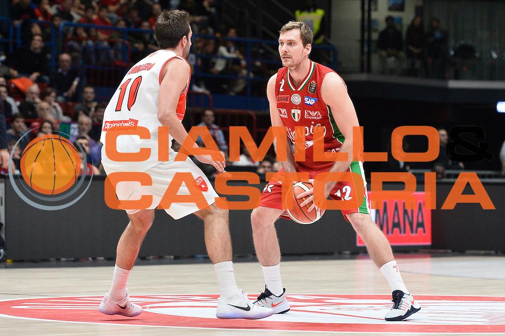 Zoran Dragic <br /> EA7 Emporio Armani Olimpia Milano - Openjobmetis Pallacanestro Varese <br /> LegaBasket 2016/2017<br /> Milano 16/10/2016<br /> Foto Ciamillo-Castoria