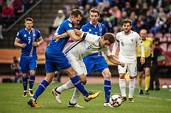 September 2, 2017 - Tampere, Finland - Eero Markkanen of Finland in action during the FIFA World Cup 2018 qualification football match between Finland and Iceland in Tampere on September 2, 2017. (Credit Image: © Antti Yrjonen/NurPhoto via ZUMA Press)
