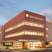 Pacific Medical Buildings commissioned SWA Architects to design the Western University patient care center in 2010. The design is characterized by the style and detailing of what's come be called mid-century modern: crisp, clean lines. San Diego Architectural Photographer, Southern California Architectural Photographer