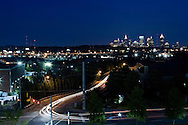 The Atlanta Skyline as seen from one of its suburbs.
