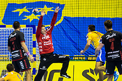 Bergerud Torbjoern Sittrup of SG Flensburg-Handewitt during handball match between RK Celje Pivovarna Lasko (SLO) and SG Flensburg Handewitt (GER) in 3rd Round of EHF Men's Champions League 2018/19, on September 30, 2018 in Arena Zlatorog, Celje, Slovenia. Photo by Grega Valancic / Sportida