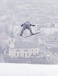22.02.2019, Bergiselschanze, Innsbruck, AUT, FIS Weltmeisterschaften Ski Nordisch, Seefeld 2019, Nordische Kombination, Skisprung, im Bild Franz Josef Rehrl (AUT) // Franz Josef Rehrl of Austria during the Ski Jumping competition for Nordic Combined of FIS Nordic Ski World Championships 2019. Bergiselschanze in Innsbruck, Austria on 2019/02/22. EXPA Pictures © 2019, PhotoCredit: EXPA/ JFK