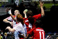 20111216: SAO PAULO, BRAZIL -<br />  XX World Handball Angola x Rússia in Ibirapuera Gym at Sao Paulo, Brazil.<br /> In photo: Bliznova (Russia).<br /> PHOTO: CITYFILES