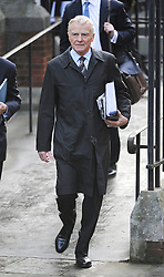 © London News Pictures. 24/11/2011. London, UK.  Max Mosley  arriving at The Royal Courts of Justice today (24/11/2011) with DAVID SHERBORNE  QC to give evidence at the Leveson Inquiry into press standards. The inquiry is being lead by Lord Justice Leveson and is looking into the culture, and practice of the UK press. Photo credit : Ben Cawthra/LNP