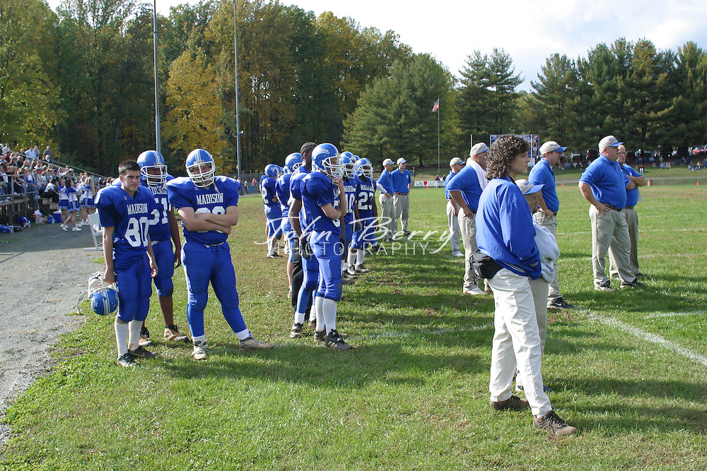 MCHS Varsity Football..vs Manassas Park..Homecoming..October 26, 2002