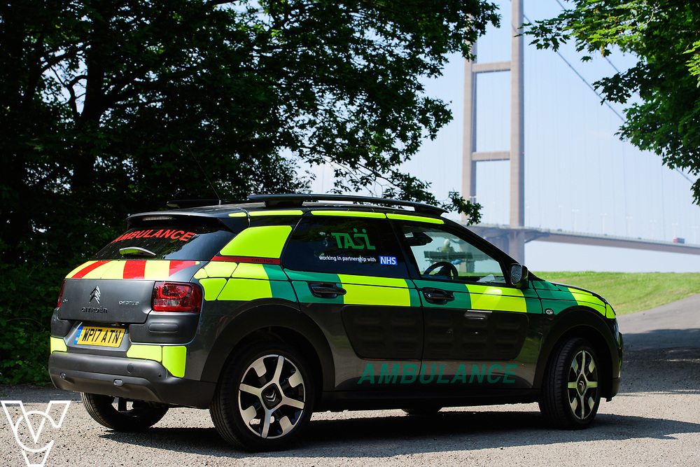 Thames Ambulance Service Ltd - Humber Bridge, Barrow upon Humber, North Lincolnshire<br /> <br /> Picture: Chris Vaughan Photography<br /> Date: May 25, 2017