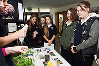 11/11/2015 Repro free:   More than 300 students visited the Marine Institute for Galway Science & Technology Festival and the Sea for Society project. At the event were pupils from Taylor's Hill. Photo:Andrew Downes, xposure.