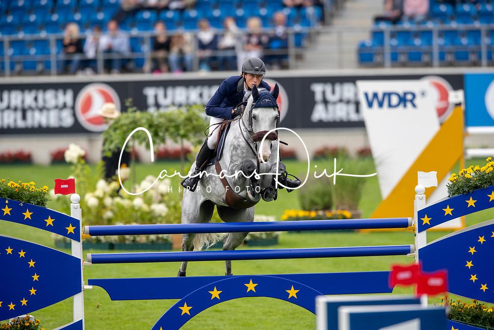 Fuchs Martin, SUI, Silver Shine<br /> CHIO Aachen 2019<br /> Weltfest des Pferdesports<br /> © Hippo Foto - Stefan Lafrentz<br /> Fuchs Martin, SUI, Silver Shine