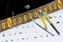 Stefan THURNBICHLER of Austria during Flying Hill Individual First Round at 2st day of FIS Ski Jumping World Cup Finals Planica 2011, on March 17, 2011, Planica, Slovenia. (Photo By Matic Klansek Velej / Sportida.com)