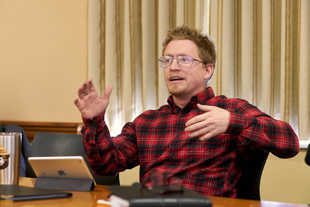 Daniel Moak discusses the research he has done during his time at Ohio University relating to Martin Luther King Jr.