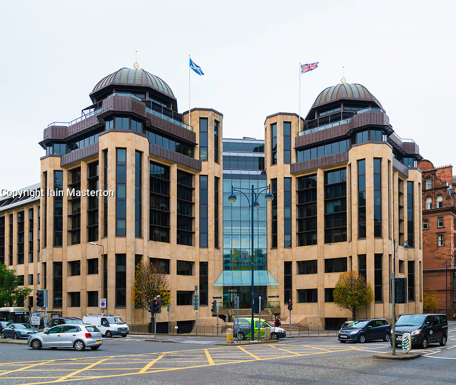 Headquarters of Standard Life in Edinburgh , Scotland, United Kingdom