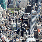 New York City Lower Manhattan Aerial panoramic view, NYC