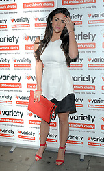 Casey Batchelor attends at 'I Love A Bit of Variety' fundraising party in aid of Variety, The Childrens Charity at Press Nightclub, Whitcomb Street, London on Thursday 26.3.2015