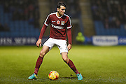 Northampton Town defender Brendan Moloney (2) during the EFL Sky Bet League 1 match between Gillingham and Northampton Town at the MEMS Priestfield Stadium, Gillingham, England on 12 November 2016. Photo by Martin Cole.