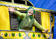 The Wind in the Willows<br /> by Kenneth Grahame adapted by Julian Fellowes with George Stiles and Anthony Drewe <br /> at London Palladium <br /> London, Great Britain <br /> Press photocall <br /> 22nd June 2017 <br /> <br /> Rufus Hound as Mr Toad <br /> <br /> <br /> <br /> <br /> <br /> Photograph by Elliott Franks <br /> Image licensed to Elliott Franks Photography Services