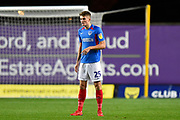 Joe Hancott (25) of Portsmouth during the Leasing.com EFL Trophy match between Oxford United and Portsmouth at the Kassam Stadium, Oxford, England on 8 October 2019.