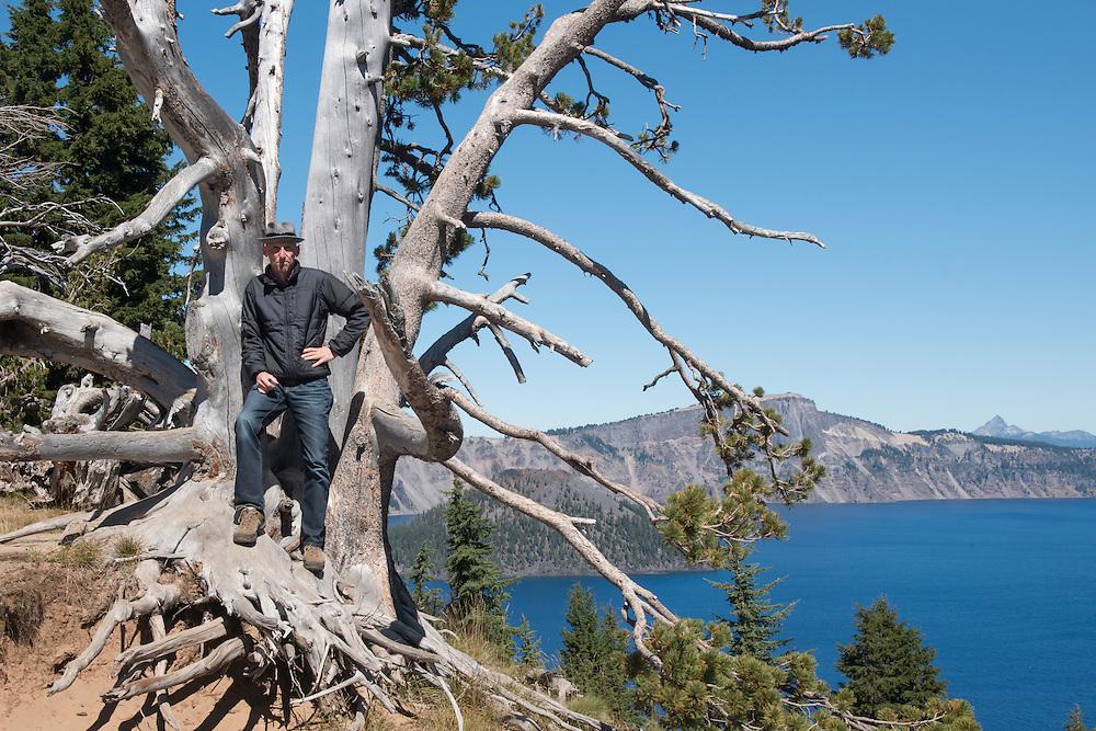 USA, Oregon, Cascades, Crater Lake National Park