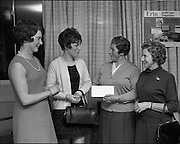 07/01/1969.01/07/1969.07 January 1969. Erin Foods function at Erin Foods Ltd. A group of Dublin prizewinners: (l-r) Mrs I. Morton, Rathmines, Mrs Patricia Gattney, Ballymun, Mrs Mary Rice, Crumlin and Betty Cussack, Booterstown.