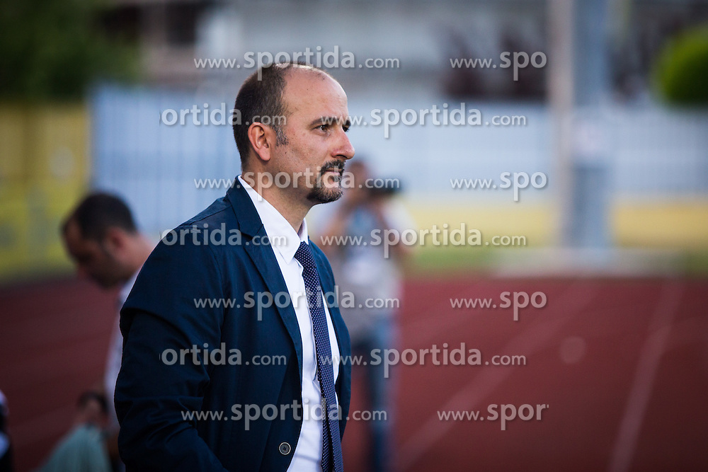 Raul Canete, headh coach of FC Lusitanos Andorra during football match between NK Domzale and FC Lusitanos Andorra in first match of UEFA Europa League Qualifications, on June 30, 2016 in Sports park Domzale, Domzale, Slovenia. Photo by Ziga Zupan / Sportida