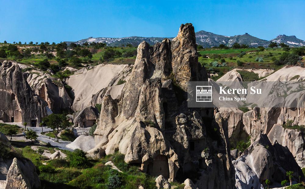 Rock foramtion, Goreme, Cappadocia, Turkey