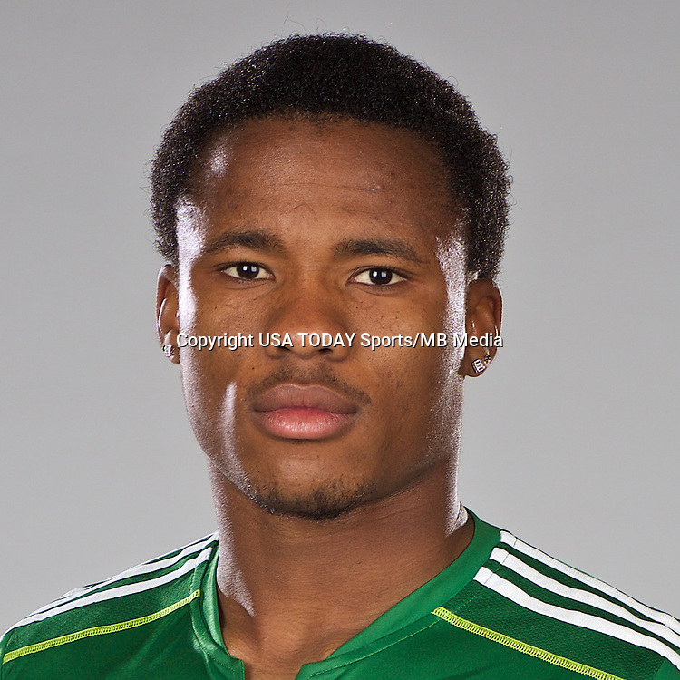 Feb 25, 2016; USA; Portland Timbers player Alvas Powell poses for a photo. Mandatory Credit: USA TODAY Sports