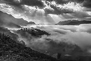 Vietnam Images-landscape-black and white-sapa Hoàng thế Nhiệm
