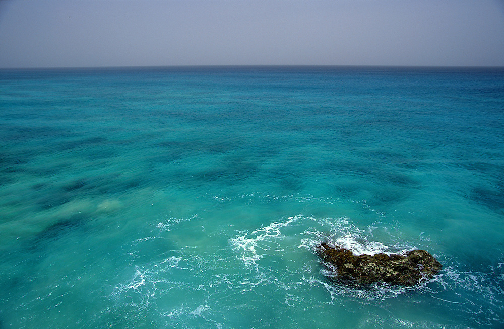 Varandinha Beach is one of the most remote and attractive in Boavista island.