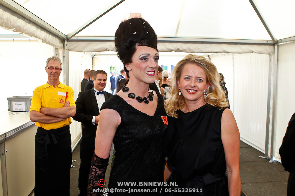 NLD/Amsterdam/20100605 - Amsterdamdiner 2010, Prinses Mabel