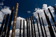 Jeceaba_MG, Brasil...Tubulacao de uma construcao pesada em um canteiro de obras em Jeceaba, Minas Gerais.. .A Ductile Iron Tube in heavy construction in Jeceaba, Minas Gerais...Foto: LEO DRUMOND / NITRO