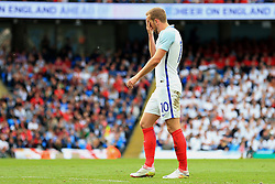 England's Harry Kane looks dejected - Mandatory byline: Matt McNulty/JMP - 07966386802 - 22/05/2016 - FOOTBALL - Etihad Stadium -Manchester,England - England v Turkey - International Friendly